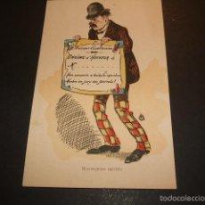 Postales: POSTAL COMICA HACIA 1910. Lote 55574548