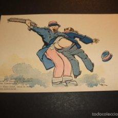 Postales: POSTAL COMICA HACIA 1910 POLICIAS. Lote 55574569
