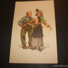 Postales: POSTAL COMICA HACIA 1910 PAREJA. Lote 55574576