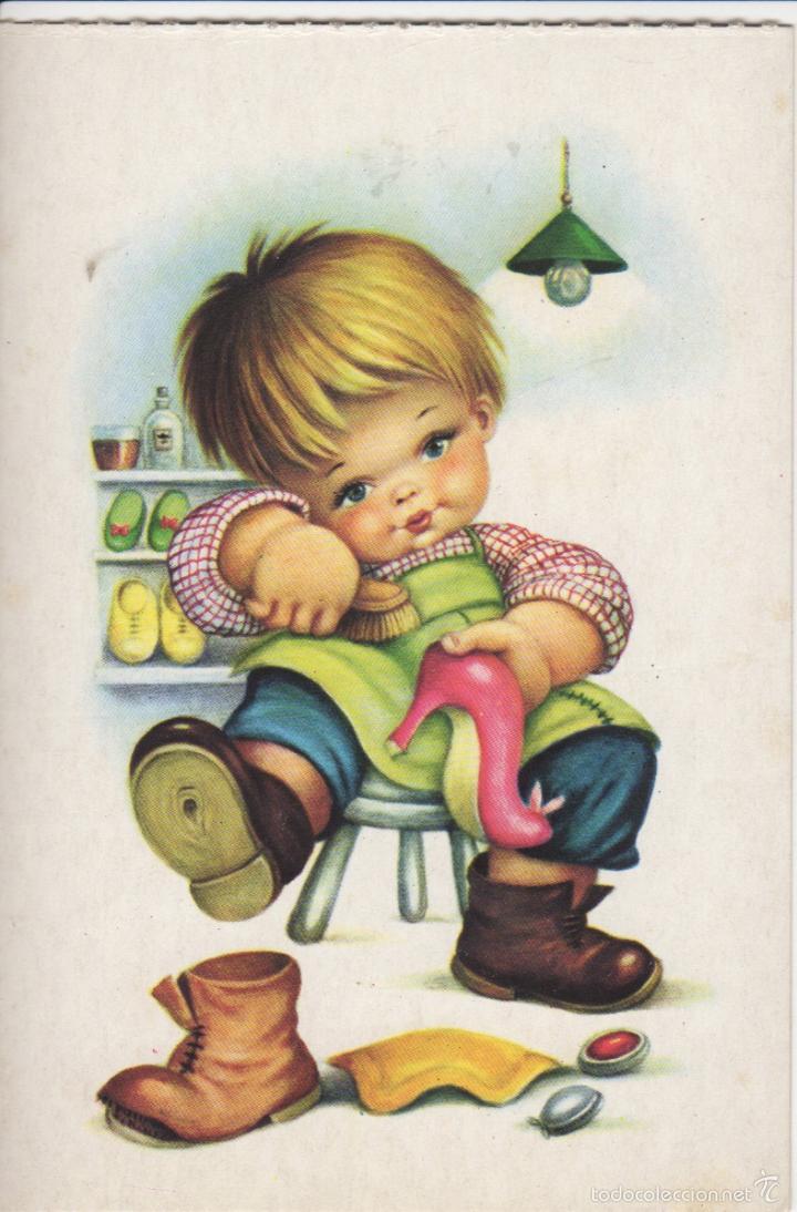 Buena postal de un ni o zapatero comprar postales - Zapatero para ninos ...