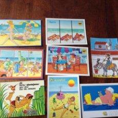 Postales: POSTALES ALGARVE SIMPÁTICAS. Lote 56310661
