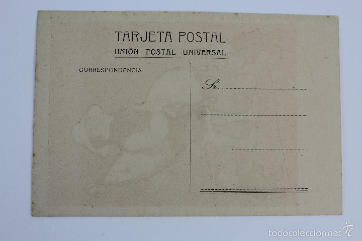 Postales: P-5308. LOTE DE 3 POSTALES IGUALES, DIBUJO SATIRICO. AÑOS TREINTA. - Foto 3 - 56691850