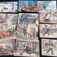 Postales: POSTALES MINGOTE, SI LE TOCARA EL GORDO A ...1970. Lote 57140262