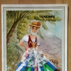 Postales: TENERIFE - TARJETA BORDADA. Lote 57862308