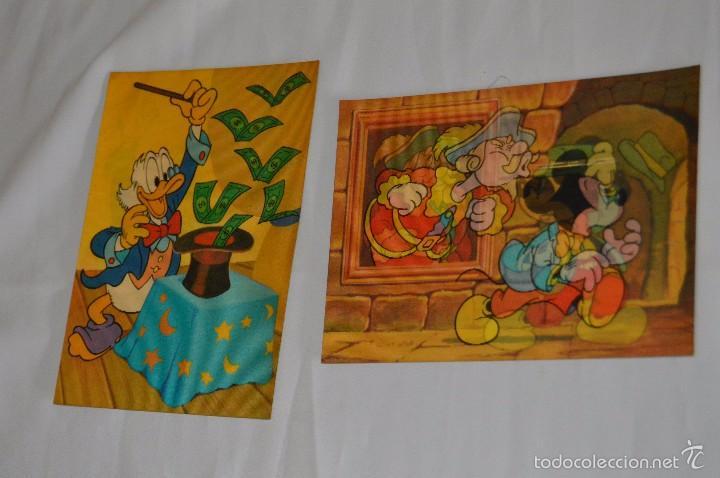 Postales: Lote de 2 postales - Walt Disney - Toppan Top Stereo - Buen estado - Muy curiosas - Foto 2 - 58065139