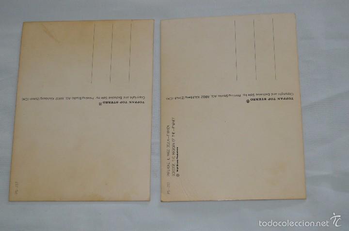 Postales: Lote de 2 postales - Walt Disney - Toppan Top Stereo - Buen estado - Muy curiosas - Foto 4 - 58065139