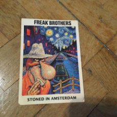 Postales: POSTAL FREAK BROTHERS - STONED IN AMSTERDAM. Lote 58214754