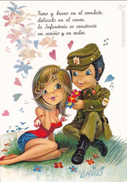 Arias Ilustrador Nº 6986 31 A Militar En Par Comprar Postales