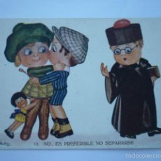 Postales: POSTAL CARICATURA HERTOGS Nº 802. EDICIONES VICTORIA. ESCRITA 1921.. Lote 58746608
