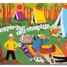 Postales: EL DESPERTAR DEL CAMPISTA. POSTAL. Lote 60260987