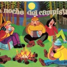 Postales: LA NOCHE DEL CAMPISTA. POSTAL. Lote 60261051