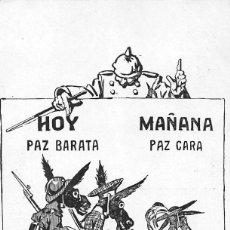 Postales: CARICATURAS DE EL TIEMPO .-DIARIO DE LA TARDE -BARCELONA- SERIE II Nº 14. Lote 60836207