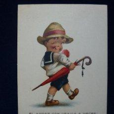 Postales: POSTAL. PRINTED IN USA. Nº 10. Lote 61798052