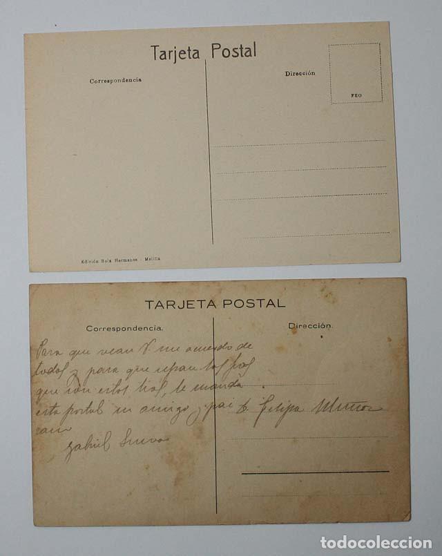 Postales: IMPRESIONANTE COLECCION DE 14 POSTALES DE MOROS EDICION BOIX HERMANOS MELILLA, VER DESCRIPCION - Foto 3 - 62196388