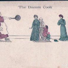 Postales: THE DAMM COOK. THE METROPOLITAN NEWS BOSTON. Lote 62415236