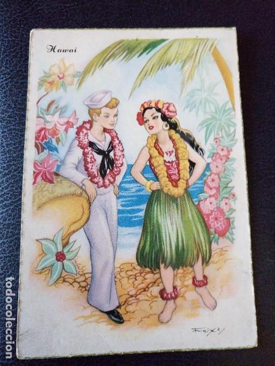 POSTAL FREIXAS. HAWAI. SERIE 315 (Postales - Dibujos y Caricaturas)
