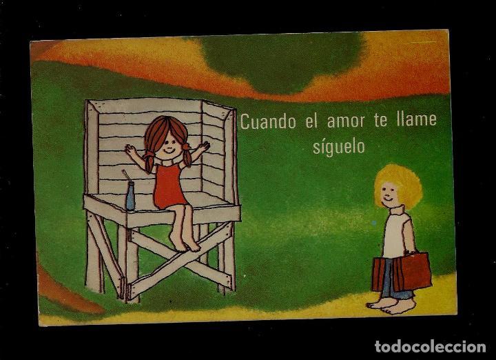 Antigua Postal Frases Cuando El Amor Te Lla Comprar Postales