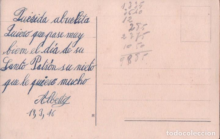 Postales: POSTAL CARICATURA MUJER - CABALLO - FIRMADO E MORAN - Foto 2 - 65674690