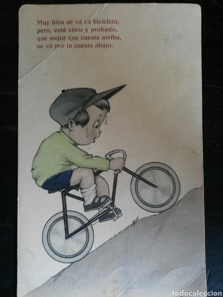 Postales: Postal Años 41/44 Lote de Tres POSTALES. Dibujo - Foto 2 - 65913251