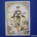 Postales: TEATRO ROMEA SOCIEDAD JULIAN ROMEA LATORRE , CARNAVAL 1886, BAILES DE MASCARAS - INVITACIÓN PASE . Lote 65933662