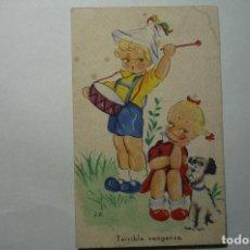 Postales: POSTAL NIÑOS -DIBUJO J.B. --ESCRITA. Lote 67773945