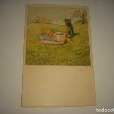 Postales: ANTIGUA POSTAL EDICIONES FR . N° 1356 . ILUSTRADA POR PAULI EBNER, SIN CIRCULAR. Lote 69494793
