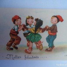 Postales: POSTAL CATALANA.- MOLTES FELICITATS. Lote 69842737