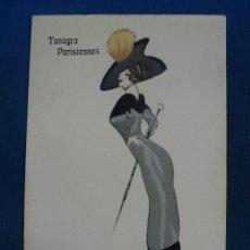 Postales: TANAGRA PARISIENNES. Lote 69959733