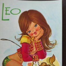 Postales: HORÓSCOPO LEO. Lote 221848907