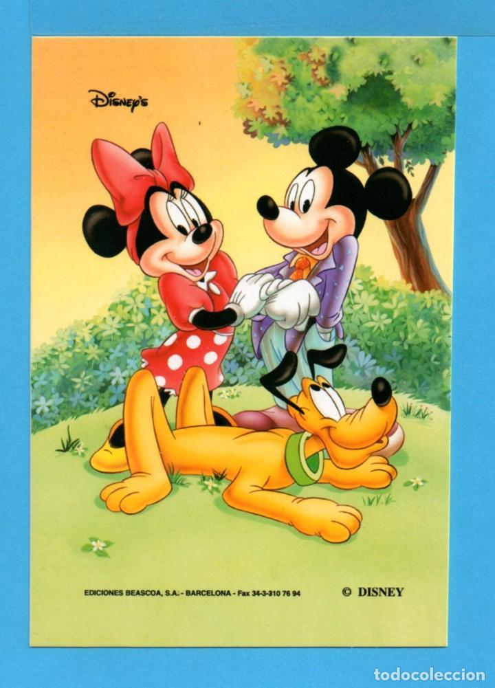 POSTAL DE LA FAMILIA PATO DONALD DISNEY EDITADA POR BEASCOA S.A. BARCELONA SIN CIRCULAR Nº 88 (Postales - Dibujos y Caricaturas)