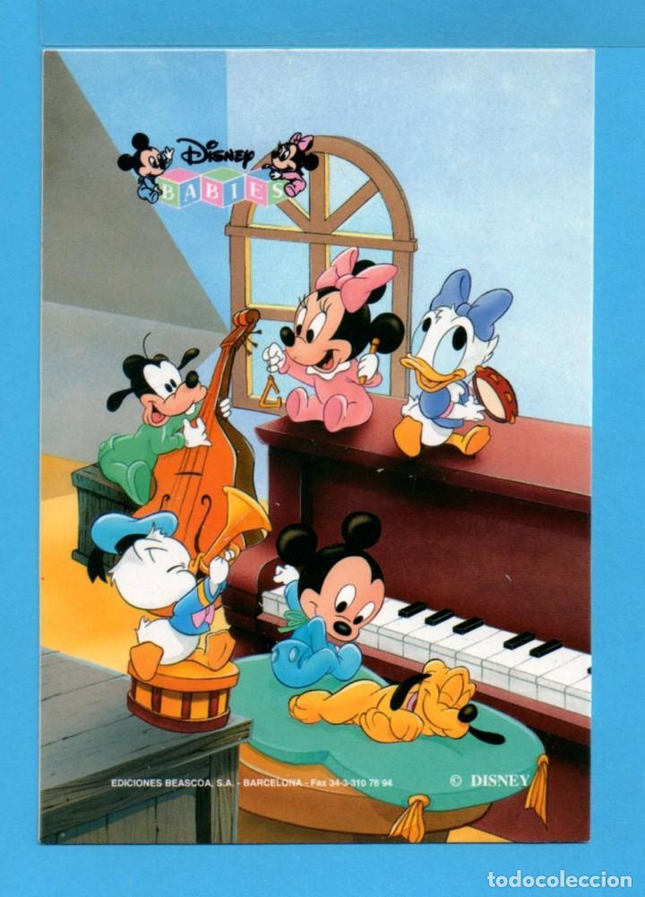 POSTAL DE LA FAMILIA PATO DONALD DISNEY EDITADA POR BEASCOA S.A. BARCELONA SIN CIRCULAR Nº 98 (Postales - Dibujos y Caricaturas)
