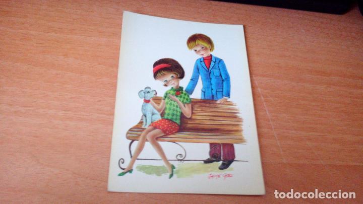 POSTAL JUVENIL - DIBUJADA POR JAIME CASES (Postales - Dibujos y Caricaturas)