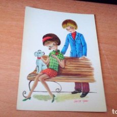 Postales: POSTAL JUVENIL - DIBUJADA POR JAIME CASES. Lote 71820063