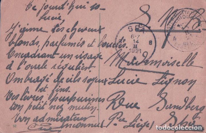 Postales: POSTAL CARICATURA BORRACHO ENAMORADO - CIRCULADA - Foto 2 - 71954919