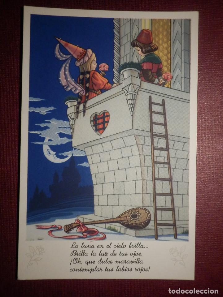 Postal Dibujos Y Caricaturas Romeo Y Juliet Comprar Postales