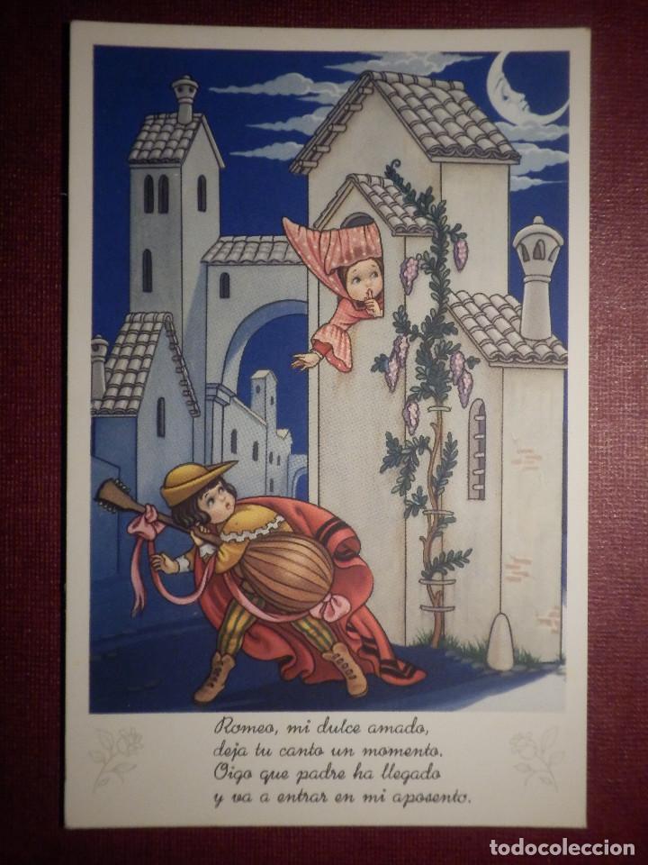 Postal Dibujos Y Caricaturas Romeo Y Juliet Buy Old Postcards