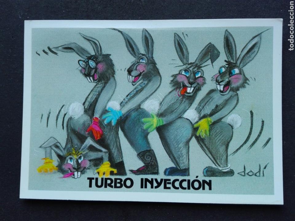 TURBO INYECCIÓN (Postales - Dibujos y Caricaturas)