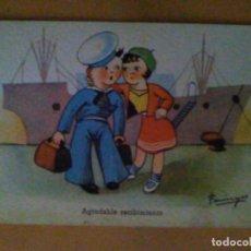 Postales: POSTAL DIBUJO CARICATURA NIÑOS ILUSTRADA FARINYES EDICIONES CMB SERIE 31. Lote 75806919