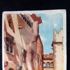 Postales: POSTAL SITGES - DIBUJO LLOVERAS, AÑO 1945, CIRCULADA. Lote 75996819