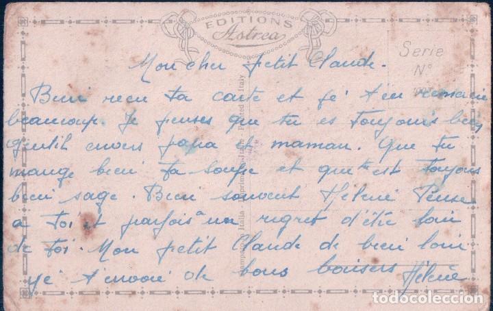 Postales: POSTAL CARICATURA PARTITURA - LE TRAIN ROULAIT - PAROLES ET MUSIQUE F.L. BENECH - ASTREA - Foto 2 - 76873839