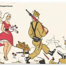 Postales: POSTAL EDICIONES ANEL 1965 .- VIENTO INOPORTUNO. Lote 77812021