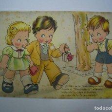 Postales: POSTAL ANTIGUA ESTAMPERIA RAM - BARCELONA - SERIE 10. Lote 78255201