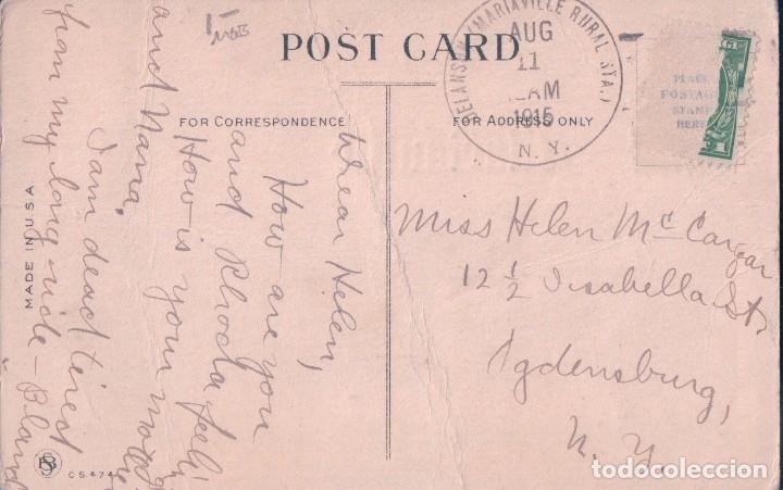 Postales: POSTAL AEROPLANO - HOW ISS DIS FOR HIGH? BUT YOU SHOULD SEE DEN COULD YOU TALK LOUD - 1915 - Foto 2 - 78426745