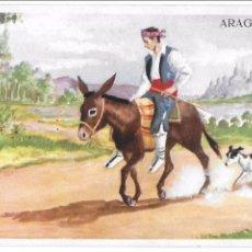 Postales: P- 6442. POSTAL ILUSTRACION ARAGON.. Lote 78875245