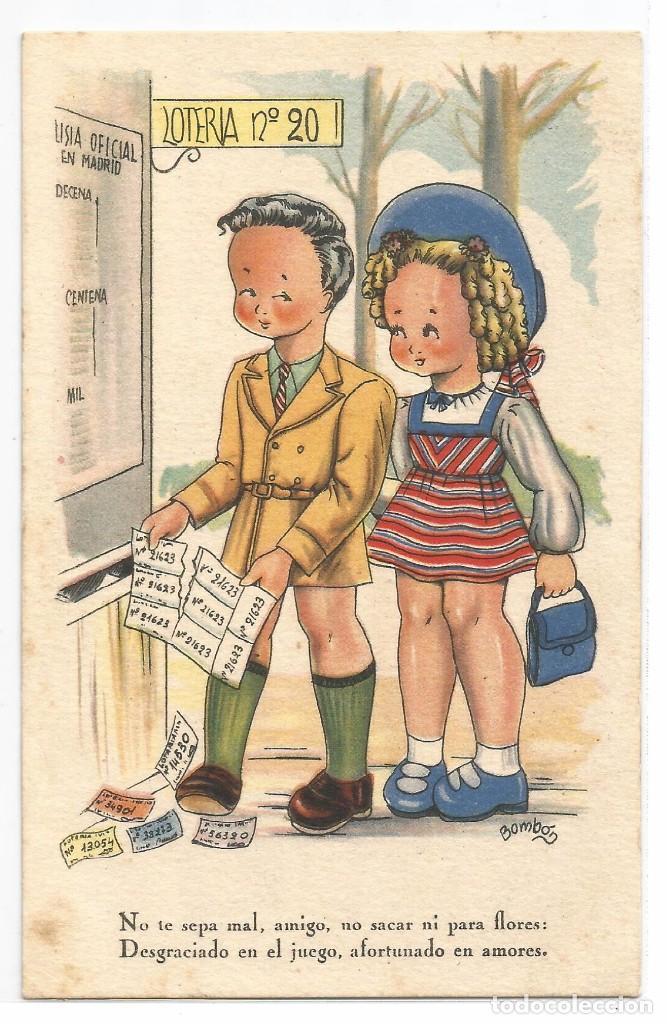 EDITORIAL ARTIGAS .- REFRANERO POPULAR .- COLECCION C .- SERIE 56 .- ILUSTRA BOMBON (Postales - Dibujos y Caricaturas)
