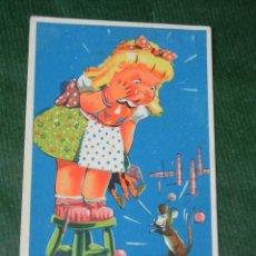 Postales: ANTIGUA POSTAL - VIVAN LAS MUJERES VALIENTES, ILUSTRADOR GRAUS 1941, IKON SERIE 32. Lote 80270237