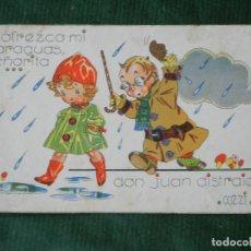 Postales: ANTIGUA POSTAL - DON JUAN DISTRAIDO, ILUSTRADOR COZZI, PUBLICACIONES CINEMA. Lote 80270413