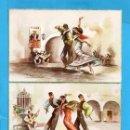 Postales: TRES POSTALES DE FOLKLORE ANDALUZ DIBUJO GEVALLEN EDITOR CYZ SIN CIRCULAR UNA ESCRITA . Lote 80717362
