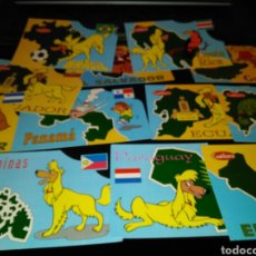 Postales: LOTE 12 POSTALES ANTIGUAS CUETARA. Lote 81567915