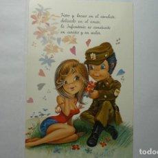 Postales: POSTAL HUMOR SOLDADO - DIBUJO ARIAS. Lote 82199984